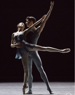 Ludmila Pagliero et Germain Louvet