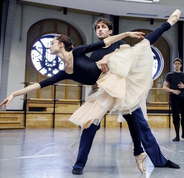 Brahms Schoenberg quartet danseur ganio danseuse dorothée gilbert