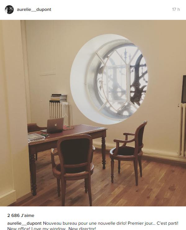 aurélie dupont bureau palais garnier